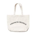 챈스챈스(CHANCECHANCE) LOGO CREAM BAG