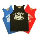 램배스트(LAMBAST) CLOWN LION TANKTOP