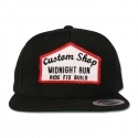 미드나잇런(MIDNIGHT RUN) CUSTOM SHOP SNAPBACK