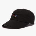 피스메이커 PIXEL 5 RINGS WASHED CAP (BLACK)