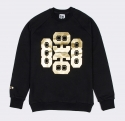 페기민(FEGGYMIN) GOLD PRINT RAGLAN SWEAT SHIRT