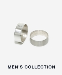 먼데이에디션(MONDAY EDITION) [MENS] MENS SILVER SIMPLE RING