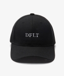 디폴트(DEFAULT) default embroidery cap black