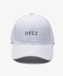 디폴트(DEFAULT) default embroidery cap white
