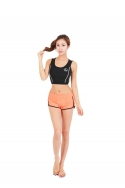 라루빌 RALUBIL BOARD SHORT ORANGE