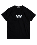 BOX CHECKER TEE-BLACK