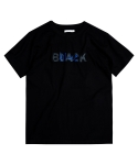 니드앤(NEED N) COLOR COLOR TEE-BLACK