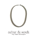 오뜨르 뒤 몽드(AUTOUR DU MONDE) BASIC CHAIN NECKLACE