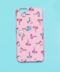 [NOMEDALIST X SHINMORAE] IPHONE6 CASE_PINK