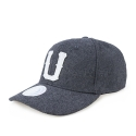 업프론트(UPFRONT) UNITED Baseball Strapback Cap (Dark Gray)