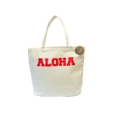 ALOHAHULA canvas bag (RED)