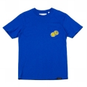 업스케일(UPSCALE) SMILE-BALL TEE-BLUE