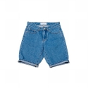 업스케일(UPSCALE) UPSCALE SMILE-BALL DENIM SHORTS-INDIGO