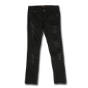 Black Destroyed Jean