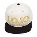 롤로(LOLO) L.O.L.O Snapback (Diamond White / Black)