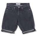 업스케일(UPSCALE) UPSCALE SMILE-BALL DENIM SHORTS-BLACK