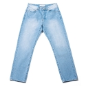 업스케일 UPSCALE SMILE-BALL DENIM-LIGHT BLUE
