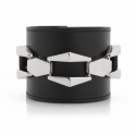 [주문제작 상품]HEXAGONAL ABORNMENTBANGLE(BK-NK)