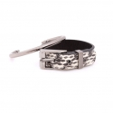 데멘드 데 뮤테숑(DEMANDE DE MUTATION) BASIC LAYERED BANGLE(IV-NB)