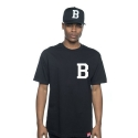BREEZY EXCURSION Lettermen B Tee (Black)