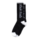 블랙스케일(BLACK SCALE) Script Socks (Black)