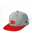 레이븐 티얼스(RAVEN TEARS) BASIC REDGRAY SNAPBACK