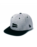 레이븐 티얼스(RAVEN TEARS) BASIC BLACKGRAY SNAPBACK
