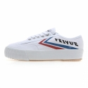 [FEIYUE]CLASSIC PLATFORM / WHITE BLUE RED / F20068W