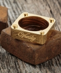 Amici X Gold Ring