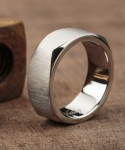 Ar X Stainless Steel Ring