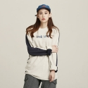 로맨틱크라운 [ROMANTICCROWN]GOOD LIFE REVERSE ROUND NECK_NAVY
