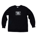 로맨틱크라운(ROMANTIC CROWN) [ROMANTICCROWN]CHECK LIST CREW NECK_BLACK