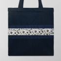 아트셀렉트 [PATCHBAG] B3840-Denim-Daisy