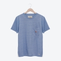 프랭크 도미닉(FRANK DOMINIC) PENGUIN POKET T-SHIRT(BLUE)
