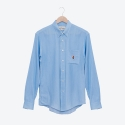 프랭크 도미닉(FRANK DOMINIC) LINE OF JAZZ SHIRTS(DENIM BLUE)