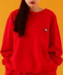 베이직코튼(BASIC COTTON) color logo mtm - RED