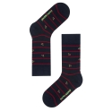 삭스어필(SOCKS APPEAL) cherry stripe
