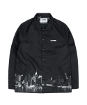 레이든 MANHATTAN COACH JACKET - BLACK