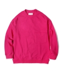 라이풀 MINIMAL POCKET SWEATSHIRT pink