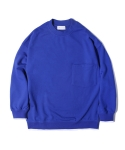 라이풀 MINIMAL POCKET SWEATSHIRT blue