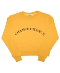 챈스챈스(CHANCECHANCE) MUSTARD CROP(기모없음)