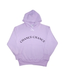 챈스챈스(CHANCECHANCE) PURPLE LOGO HOODY(기모)