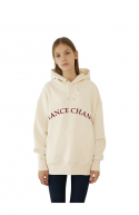챈스챈스(CHANCECHANCE) CREAM LOGO HOODY(기모)