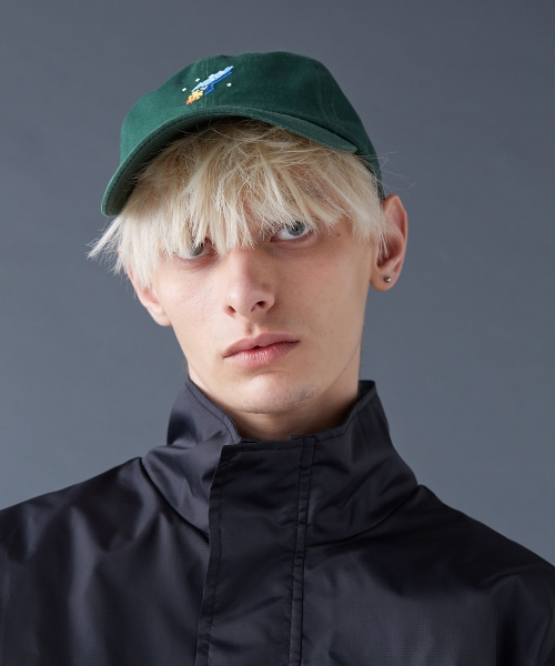 스컬프터_SPACESHIP BALL-CAP[GREEN]