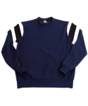 얼반 익스플로러 [UEX] CREW NECK SHIRT STAY QUIET NAVY