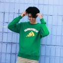 런디에스(RUNDS) RUNDS Shrimp pizza sweatshirt (green)