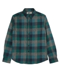 콰이트(QUITE) [콰이트] 5 Colors Check Shirts (green)