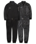 언티지() UTP-FJ01 golden-age jumpsuit[TR black / coating black(UNISEX)]