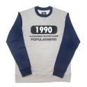 파퓰러너드(POPULARNERD) 1990 Crewneck gray