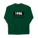 파퓰러너드(POPULARNERD) 1990 Crewneck green